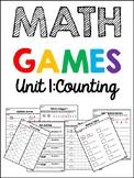 EDM 4 Unit 1 Math Games - 1st Grade