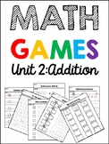 EDM 4 Unit 2 Math Games - 1st Grade