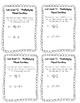 EDM Unit 7 Exit Tickets