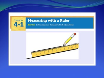 EDM4 (Everyday Math 4) Grade 3 Lesson 4.1 Smart Notebook Presentation
