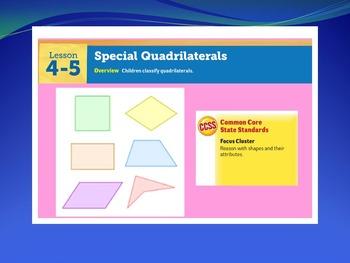 EDM4 (Everyday Math 4) Grade 3 Lesson 4.5 Smart Notebook Presentation