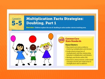 EDM4 (Everyday Math 4) Grade 3 Lesson 5.5 Smart Notebook Presentation
