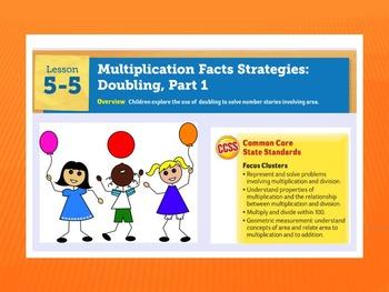 EDM4 (Everyday Math 4) Grade 3 Lesson 5.5 Smart Notebook P