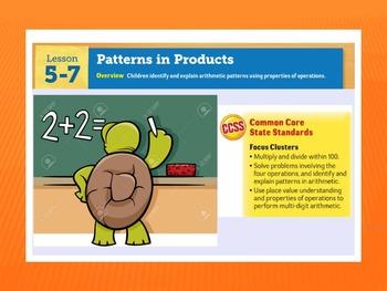 EDM4 (Everyday Math 4) Grade 3 Lesson 5.7 Smart Notebook Presentation