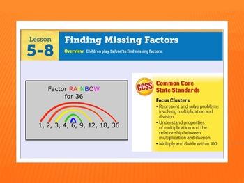 EDM4 (Everyday Math 4) Grade 3 Lesson 5.8 Smart Notebook Presentation