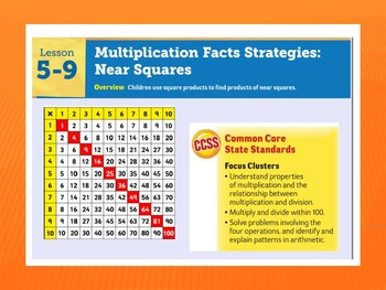 EDM4 (Everyday Math 4) Grade 3 Lesson 5.9 Smart Notebook Presentation