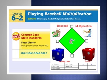 EDM4 (Everyday Math 4) Grade 3 Lesson 6.2 Smart Notebook Presentation