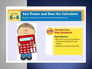 EDM4 (Everyday Math 4) Grade 3 Lesson 6.4 Smart Notebook P