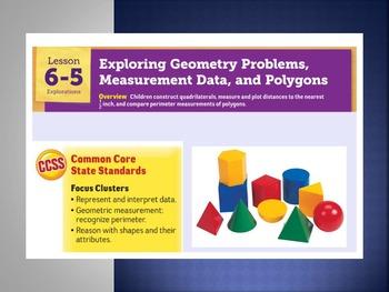 EDM4 (Everyday Math 4) Grade 3 Lesson 6.5 Smart Notebook P