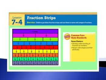 EDM4 (Everyday Math 4) Grade 3 Lesson 7.4 Smart Notebook Presentation