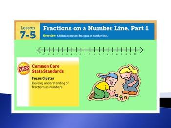 EDM4 (Everyday Math 4) Grade 3 Lesson 7.5 Smart Notebook Presentation