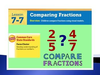 EDM4 (Everyday Math 4) Grade 3 Lesson 7.7 Smart Notebook Presentation