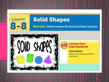EDM4 (Everyday Math 4) Grade 3 Lesson 8.8 Smart Notebook Presentation