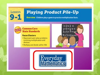 EDM4 (Everyday Math 4) Grade 3 Lesson 9.1 Smart Notebook Presentation
