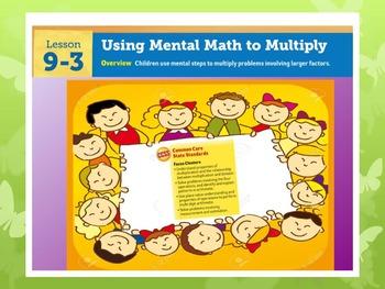 EDM4 (Everyday Math 4) Grade 3 Lesson 9.3 Smart Notebook Presentation