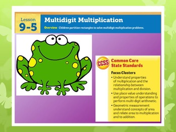 EDM4 (Everyday Math 4) Grade 3 Lesson 9.5 Smart Notebook Presentation
