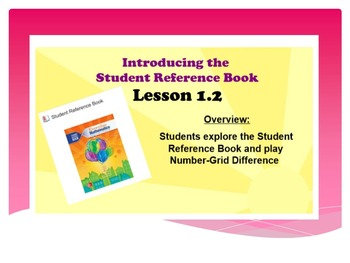 EDM4 (Everyday Math 4) Grade 3 Lesson 1.2 Smart Notebook Presentation