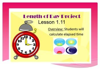 EDM4 (Everyday Math 4) Grade 3 Lesson 1.11 Smart Notebook