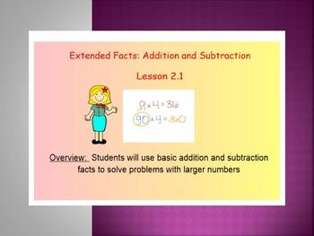 EDM4 (Everyday Math 4) Grade 3 Lesson 2.1 Smart Notebook Presentation
