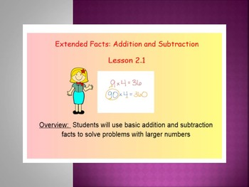 EDM4 (Everyday Math 4) Grade 3 Lesson 2.1 Smart Notebook P