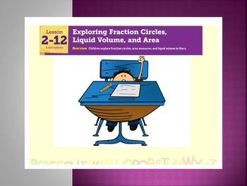 EDM4 (Everyday Math 4) Grade 3 Lesson 2.12 Smart Notebook Presentation