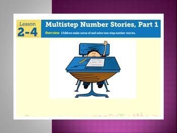EDM4 (Everyday Math 4) Grade 3 Lesson 2.4 Smart Notebook Presentation