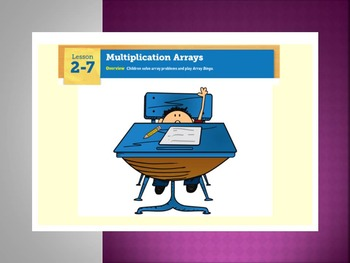 EDM4 (Everyday Math 4) Grade 3 Lesson 2.7 Smart Notebook Presentation