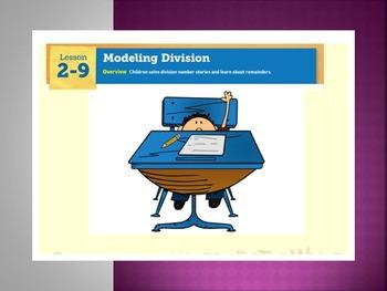 EDM4 (Everyday Math 4) Grade 3 Lesson 2.9 Smart Notebook P