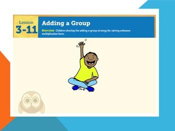 EDM4 (Everyday Math 4) Grade 3 Lesson 3.11 Smart Notebook Presentation