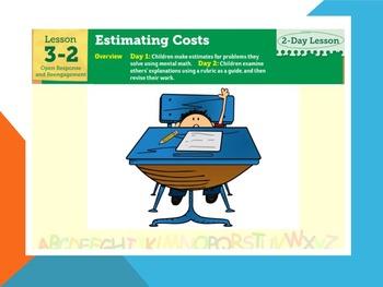 EDM4 (Everyday Math 4) Grade 3 Lesson 3.2 Smart Notebook Presentation