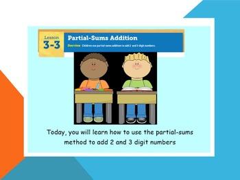 EDM4 (Everyday Math 4) Grade 3 Lesson 3.3 Smart Notebook P