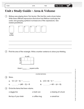 EDM4 Unit 1 Study Guide