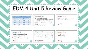EDM4 - 4th Grade - Unit 5 Review Game