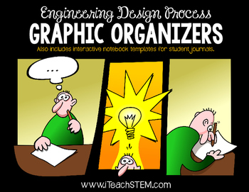 STEM Engineering Design Process Graphic Organizers for Note Taking