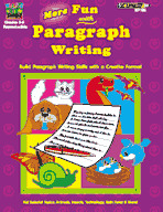 More Fun with Paragraph Writing
