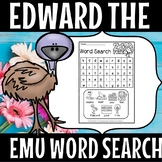 EDWARD THE EMU WORDSEARCH( flash freebie)
