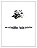 EE AND EET WORD FAMILY ACTIVITIES