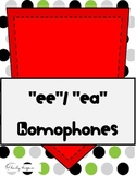 """""""EE"""", """"EA"""" Homophones"""