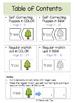 Long Vowel Teams: EE & EA Self-Correcting Puzzles