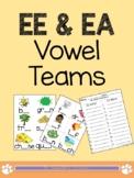 EE & EA Vowel Team