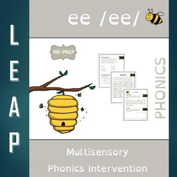 EE - Long Vowel E - No Prep Phonics