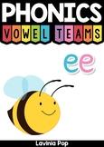 Digraph / Vowel Team EE: Phonics Word Work {Multiple Phonograms}