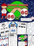 EE and EA Vowel Team Activities & Interactive Notebook Pack