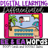 EE and EA Vowel Digraphs for BOOM™ & GOOGLE™ Vowel Teams D