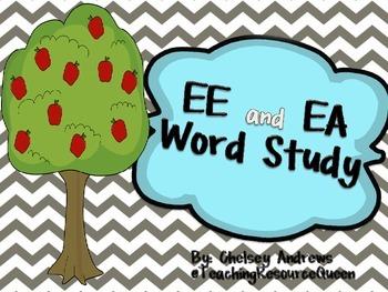 EE and EA Word Study
