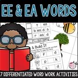 EE and EA Word Work Activities