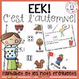 EEK - Automne! Un jeu qui travaille les noms des lettres & les mots fréquents