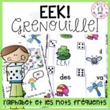 EEK - Grenouille! Un jeu qui travaille les noms des lettre