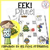 EEK - Pluie! Pratiquer les noms des lettres & les mots fréquents