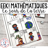 EEK! Jeu de Mathématiques - Déchets! (FRENCH Earth Day Themed Math Game)